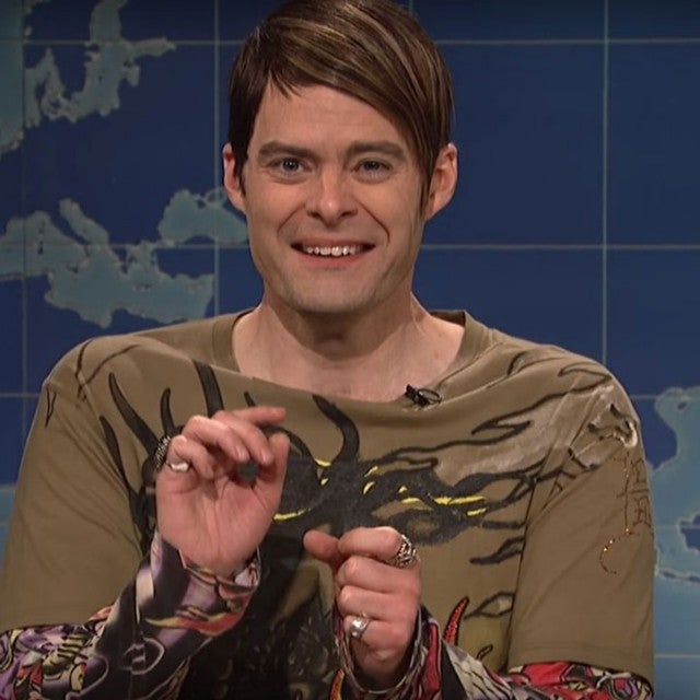 Bill Hader as Stefon on Saturday Night Live's Weekend Update