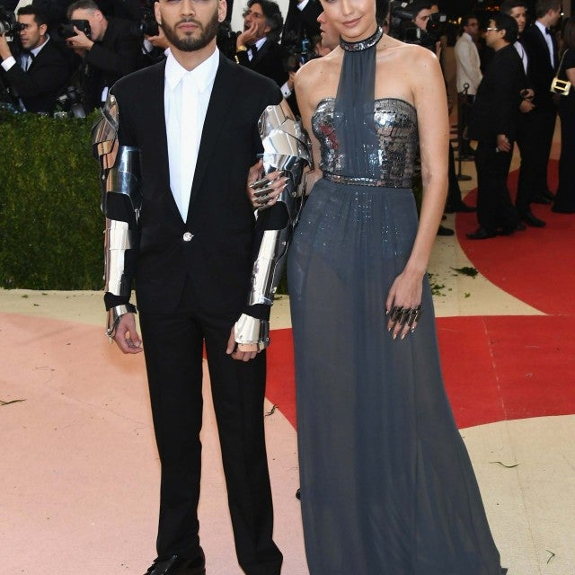 Zayn Malik and Gigi Hadid at the 2016 Met Gala