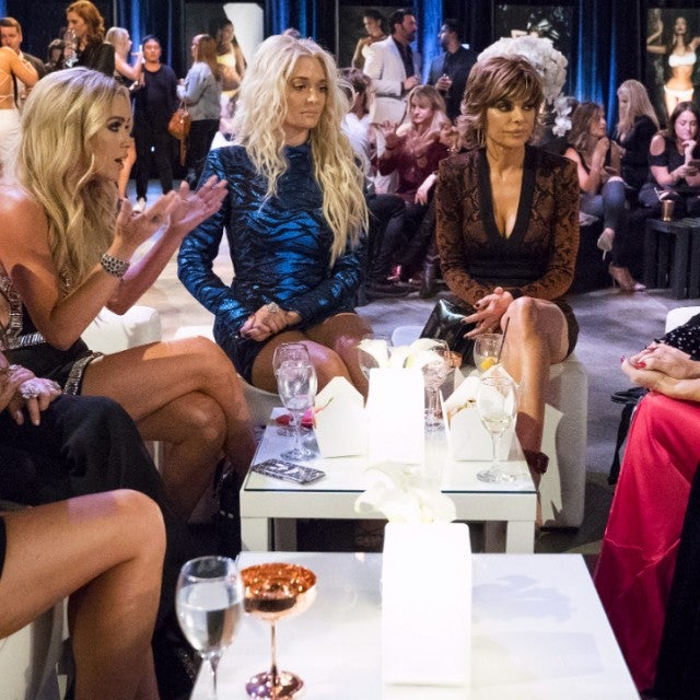 The cast of 'The Real Housewives of Beverly Hills' hashes out their issues on the season finale.