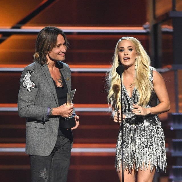 Carrie Underwood and Keith Urban ACM Awards