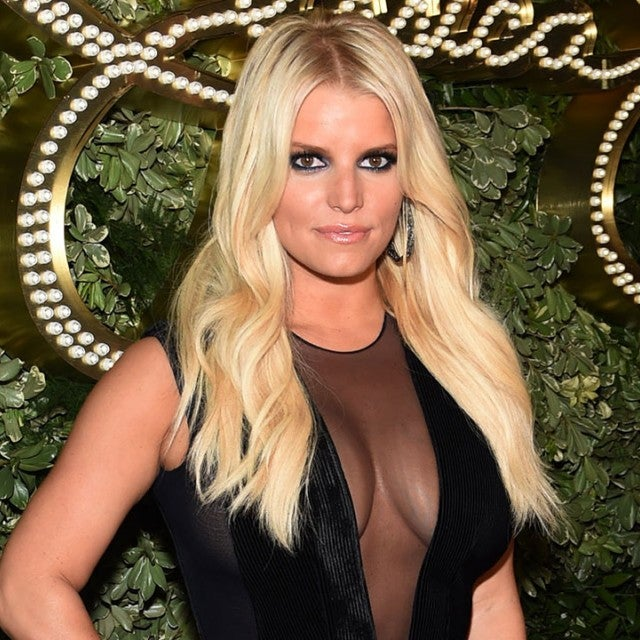 Jessica Simpson at 10th anniversary celebration of JS Collection