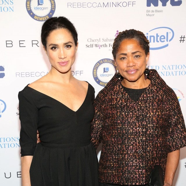Meghan Markle and Doria Ragland in NYC in 2015