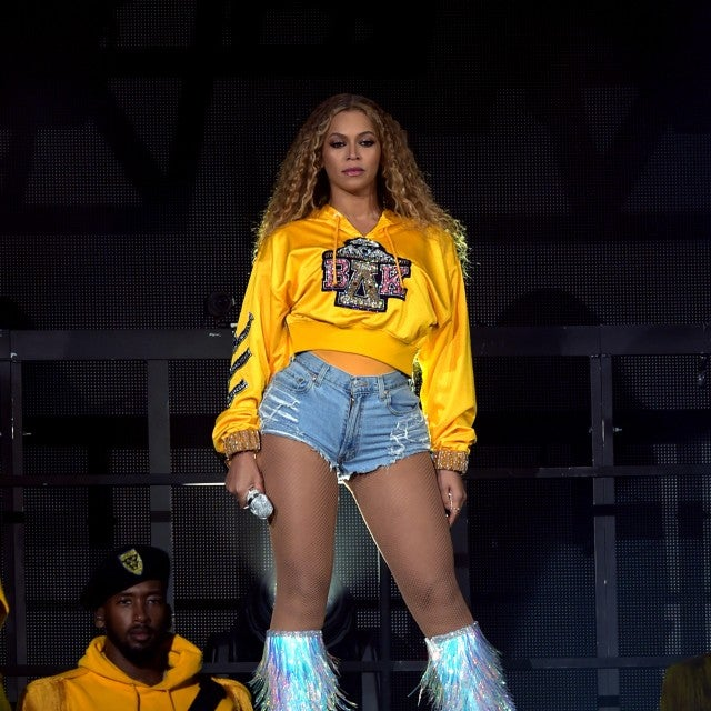 Beyonce performs at Coachella on April 14, 2018.