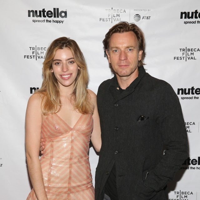 Ewan McGregor and guest attend the afterparty for ZOE during the 2018 Tribeca Film Festival at The Ainsworth on April 22, 2018 in New York City.