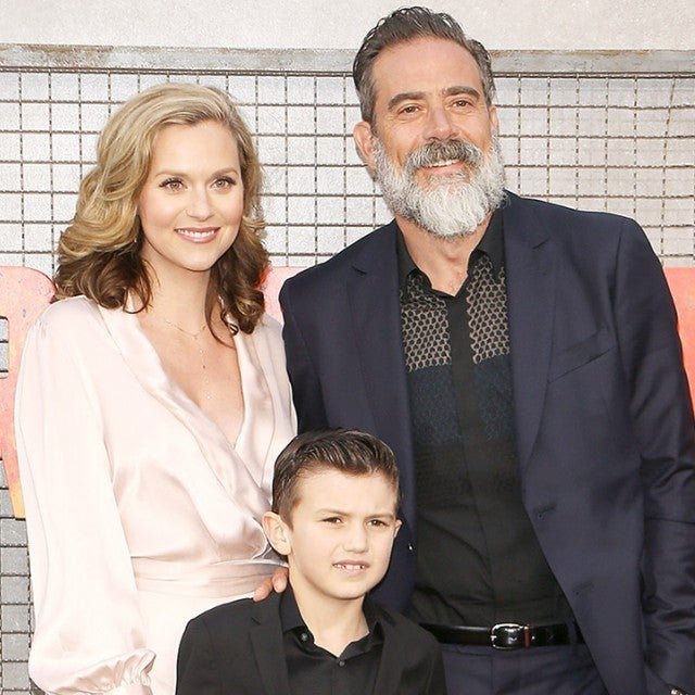 Hilarie Burton, Jeffrey Dean Morgan and Augustus
