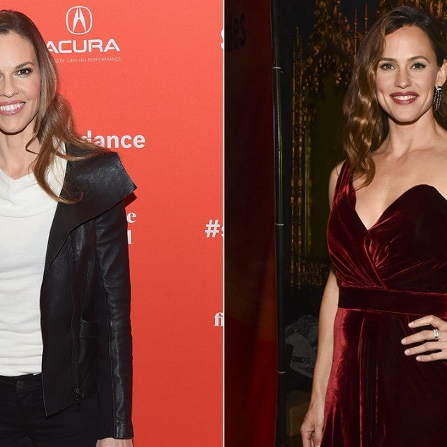 Hilary Swank and Jennifer Garner