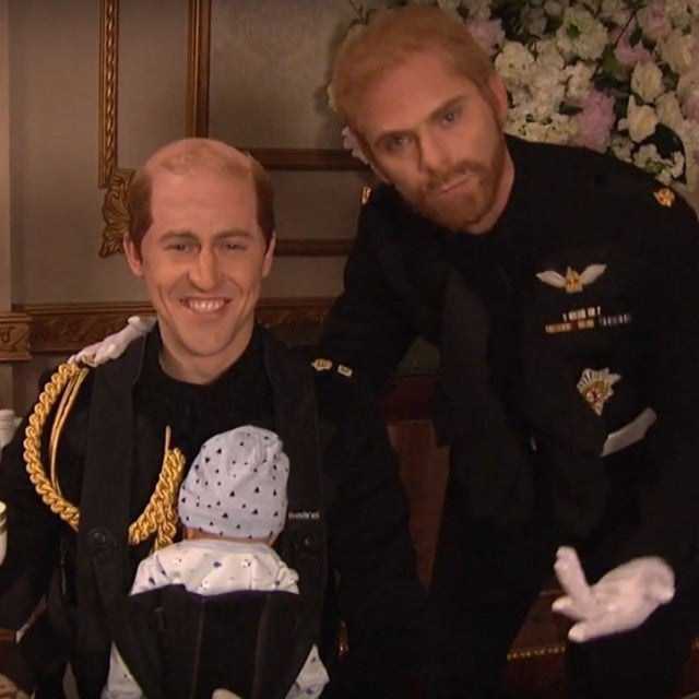 Alex Moffat and Mikey Day as Prince William and Prince Harry on 'Saturday Night Live'
