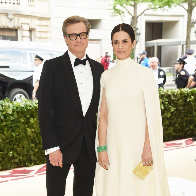 Colin and Livia Firth at the 2018 Met Gala.