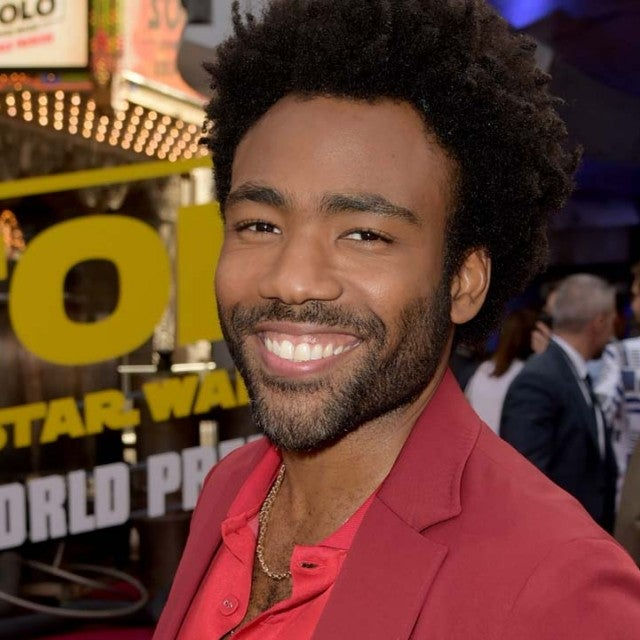 Donald Glover at the Hollywood premiere of 'Solo: A Star Wars Story' on May 10