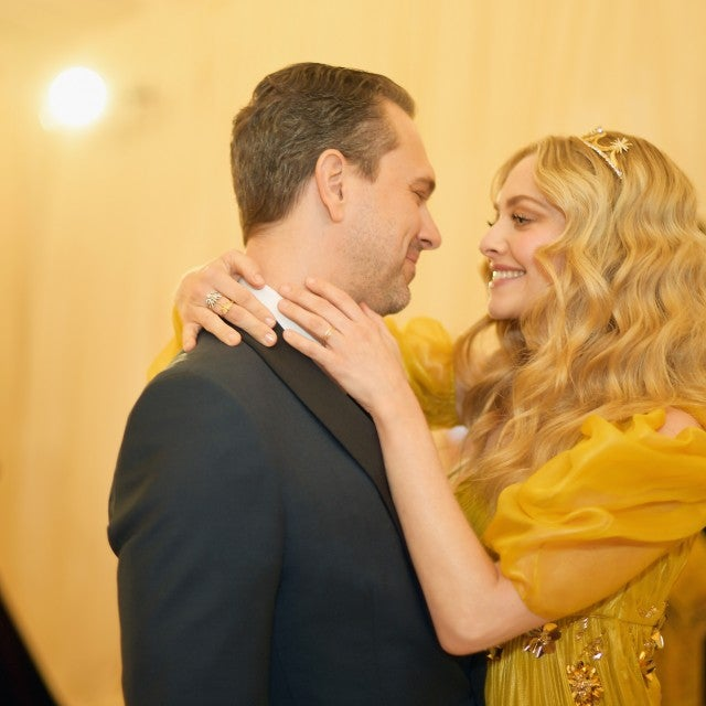 Amanda Seyfried and Thomas Sadoski at Met Gala 2018