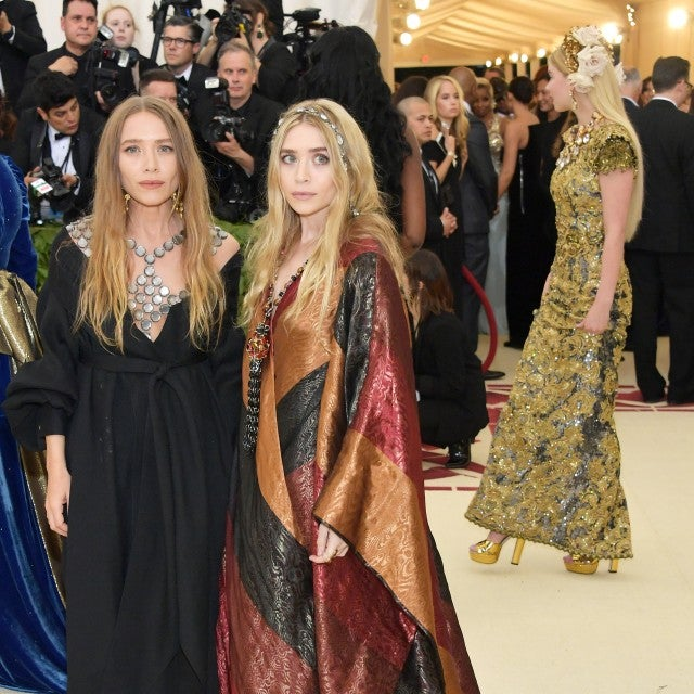 Mary-Kate and Ashley Olsen at 2018 Met Gala
