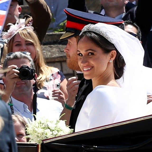 Meghan Markle in carriage
