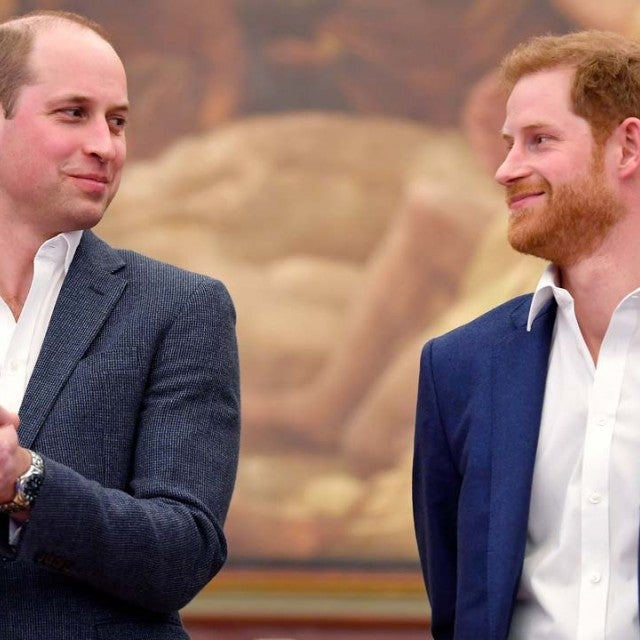 Prince William and his younger brother, Prince Harry