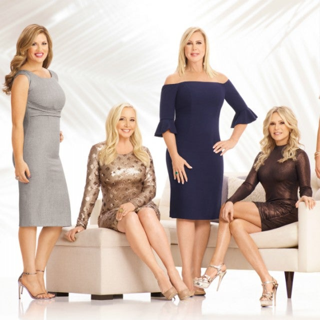 The cast of season 13 of 'The Real Housewives of Orange County.'