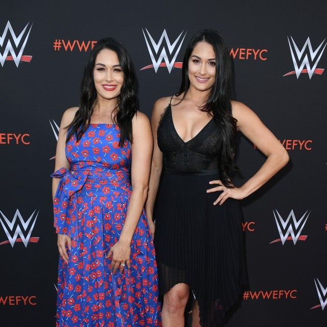 Brie and Nikki Bella WWE FYC Event