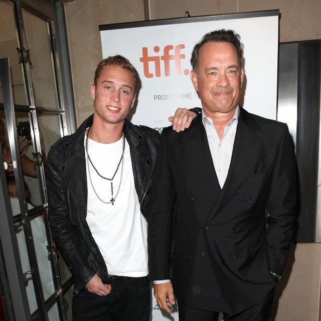 Chet Hanks & Tom Hanks attending the The 2012 Toronto International Film Festival.Red Carpet Arrivals for 'Cloud Atlas' at the Princess of Wales Theatre in Toronto on 9/8/2012.