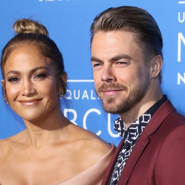 Derek Hough and Jennifer Lopez