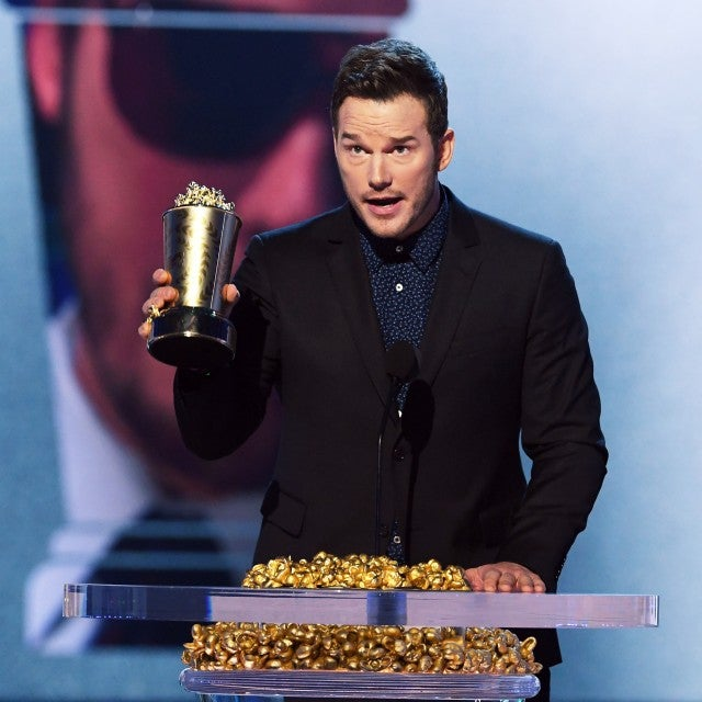 Chris Pratt at 2018 MTV Movie & TV Awards