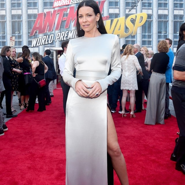 Evangeline Lilly at Ant-Man and the Wasp premiere