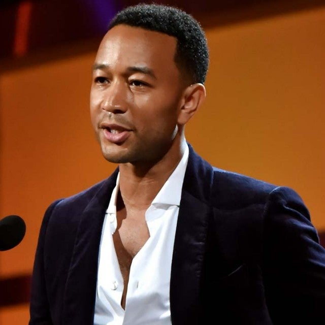 John Legend on stage at the 2018 BET Awards in LA on June 24