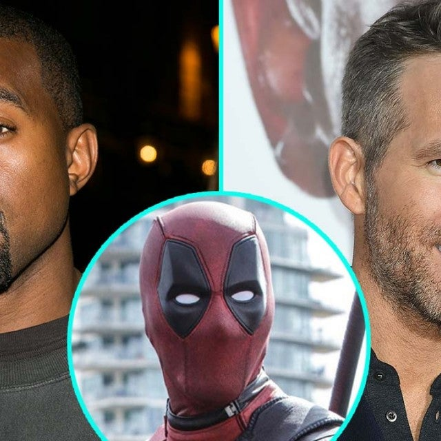 Kanye West, Ryan Reynolds and Deadpool
