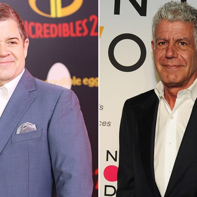 Patton Oswalt and Anthony Bourdain