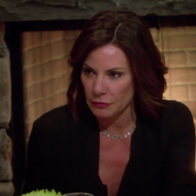 Luann de Lesseps isn't happy with Ramona Singer on 'The Real Housewives of New York City.'