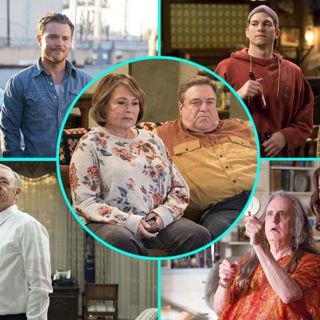 Roseanne, Lethal Weapon, House of Cards, The Ranch and Transparent