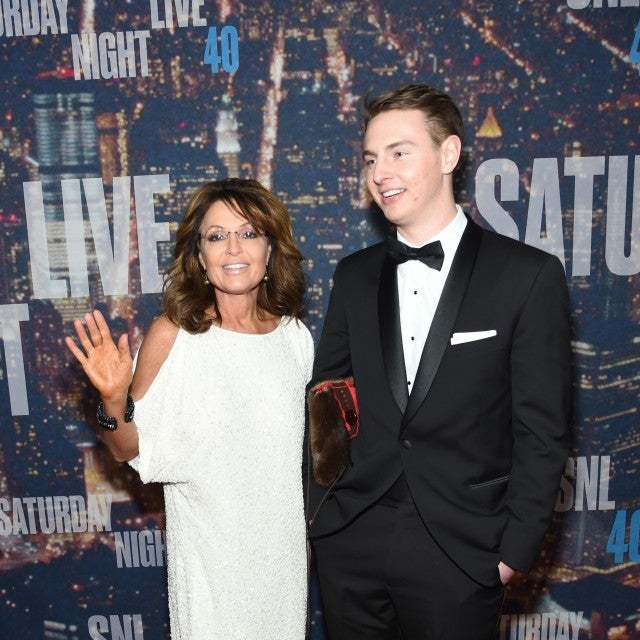 Sarah Palin and Son Track