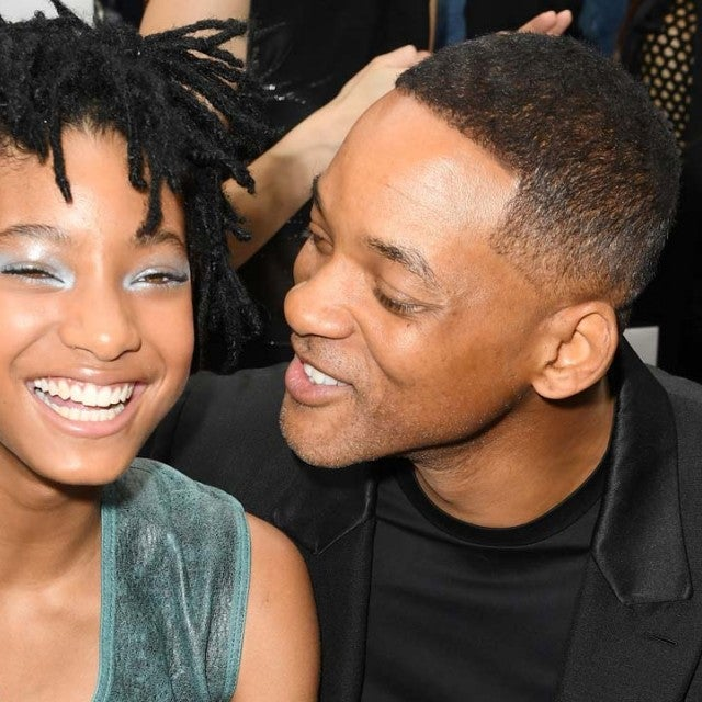Willow Smith and her father, Will Smith