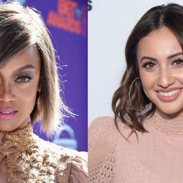 Tyra Banks and Francia Raisa
