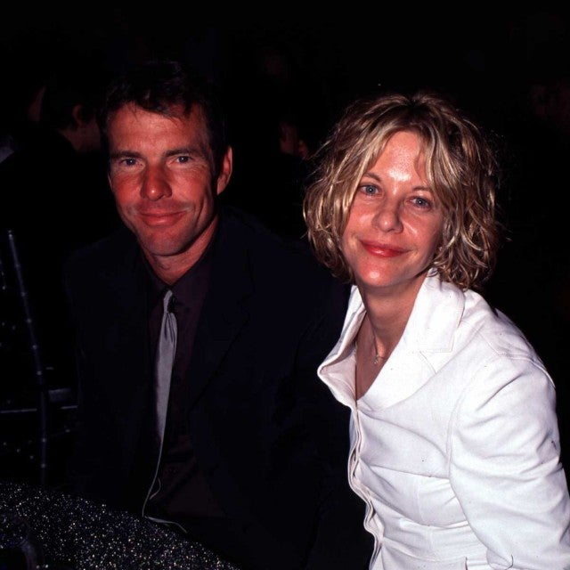 Dennis Quaid & Meg Ryan during Elton John Named the 2000 MusiCares Person of the Year by the GRAMMY Awards at Fox Studios in Century City, California.
