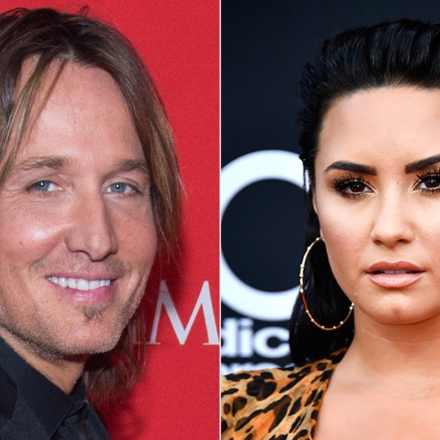 Keith Urban and Demi Lovato