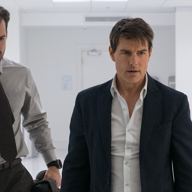 Mission Impossible Fallout, Henry Cavill, Tom Cruise, Rebecca Ferguson