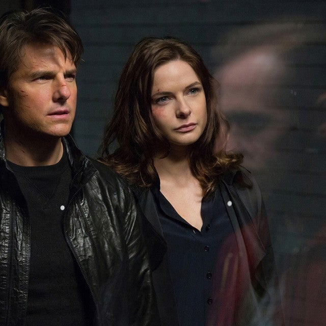 Mission Impossible Rogue Nation, Tom Cruise, Rebecca Ferguson