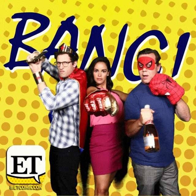 Brooklyn Nine-Nine Comic-Con photo booth