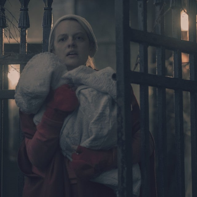 Elisabeth Moss as June/Offred in the season finale of 'The Handmaid's Tale.'