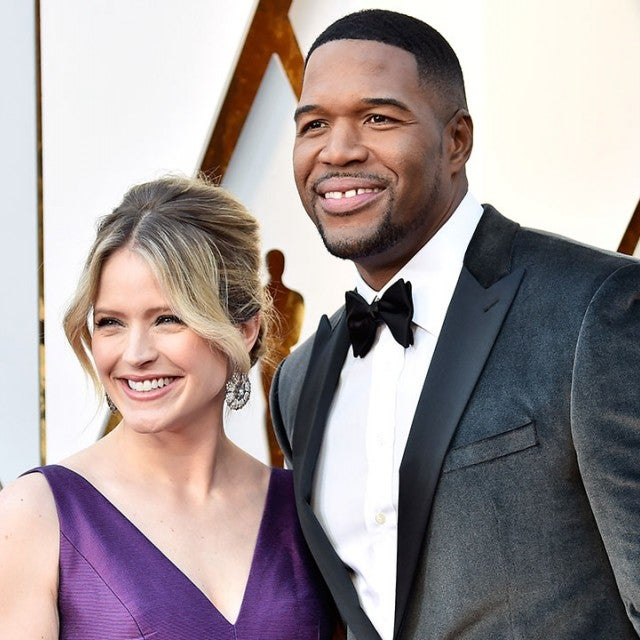 Sara Haines and Michael Strahan