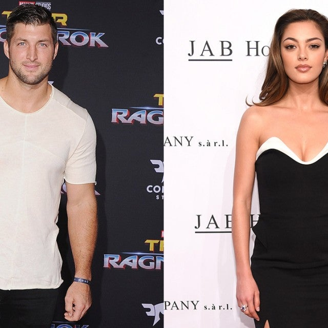 Tim Tebow and Demi-Leigh Nel-Peters
