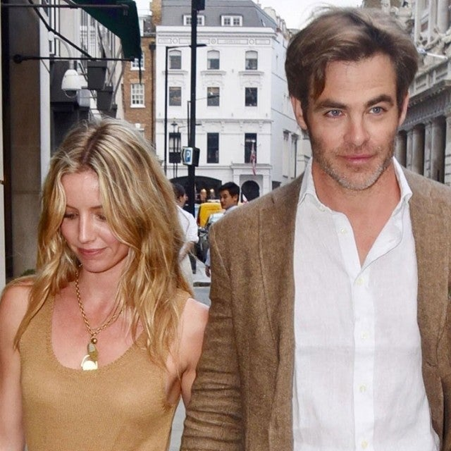 Annabelle Wallis and Chris Pine
