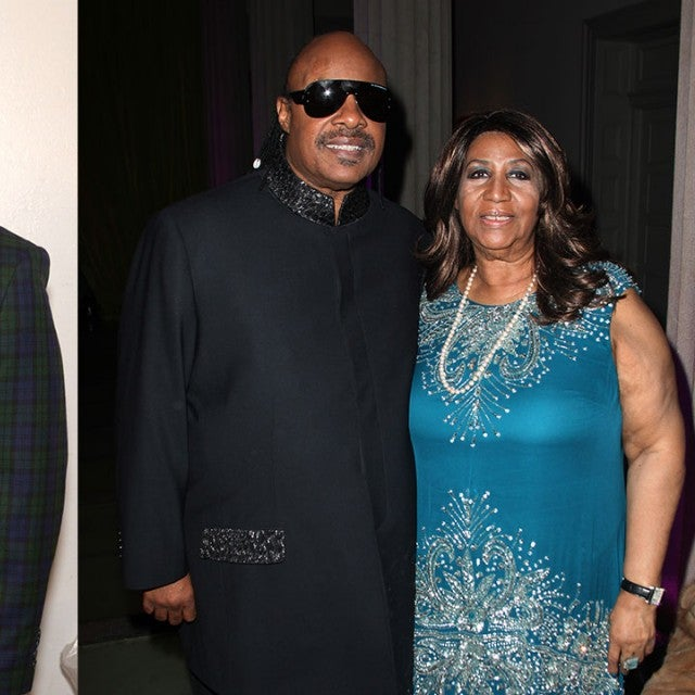 Aretha Franklin, Smokey Robinson and Stevie Wonder