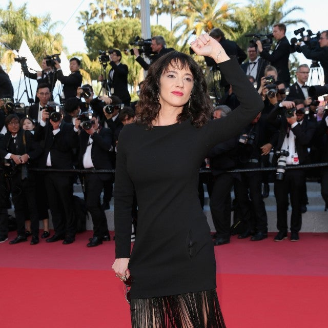 Asia Argento attends the Closing Ceremony & screening of 'The Man Who Killed Don Quixote' during the 71st annual Cannes Film Festival at Palais des Festivals on May 19, 2018 in Cannes, France.