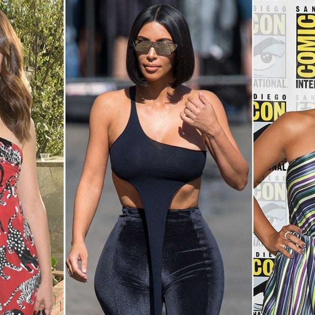 Emmy Rossum, Kim Kardashian, and Stephanie Beatriz