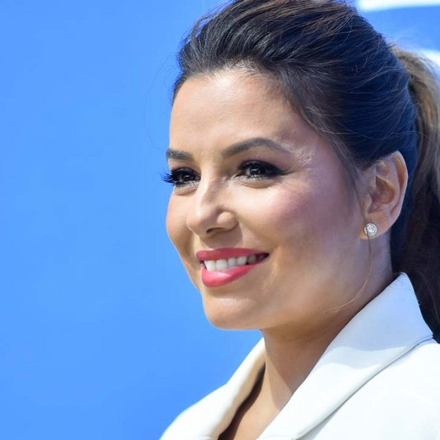 Eva Longoria at the premiere of 'Dog Days' in Century City, California, on Aug. 3