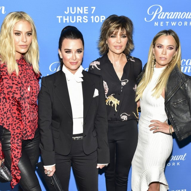 Dorit Kemsley, Kyle Richards, Lisa Rinna, and Teddi Mellencamp