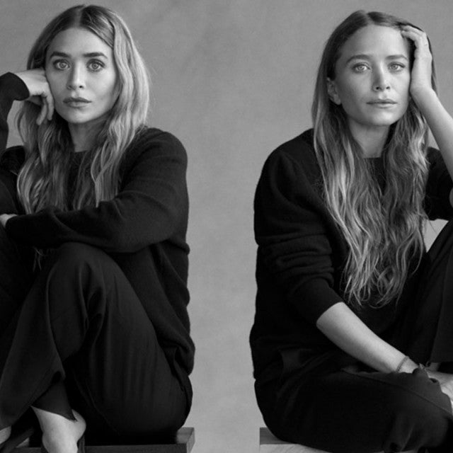 Mary-Kate and Ashley Olsen menswear line