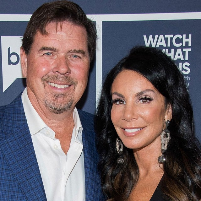 Danielle Staub and Marty Caffrey