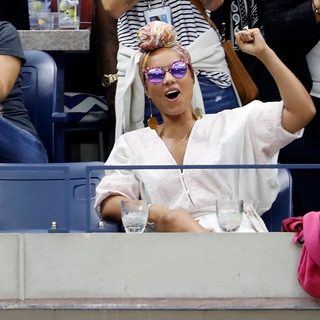 Alicia Keys at US open