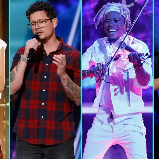 Courtney Hadwin, Michael Ketterer, Brian King Joseph and Shin Lim compete in the 'AGT' finale