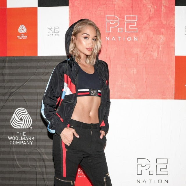 Jasmine Sanders at PE Nation x Woolmark